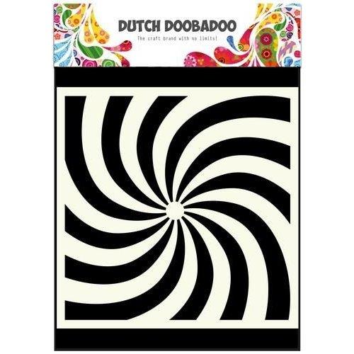 Dutch Doobadoo 470.715.600 - Dutch Doobadoo Dutch Mask Art stencil spiral 15x15cm 15.600