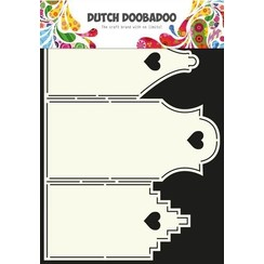 470.713.311 - Dutch Doobadoo Dutch Card Art Stencil Huisjes  A4 13.311