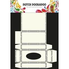 470.713.034 - Dutch Doobadoo Dutch Box Art stencil tissue doosje A4 13.034