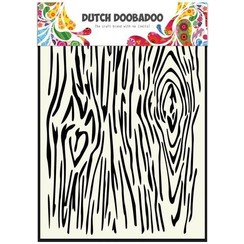 470.715.102 - Dutch Doobadoo Dutch Mask Art stencil houtnerven A5 15.102
