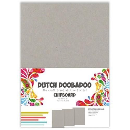 Dutch Doobadoo 474300004 - DDBD Greyboard A5 (10 x 0.9mm)