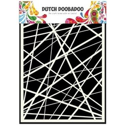 470.715.105 - Dutch Doobadoo Dutch Mask Art stencil strepen A5 15.105