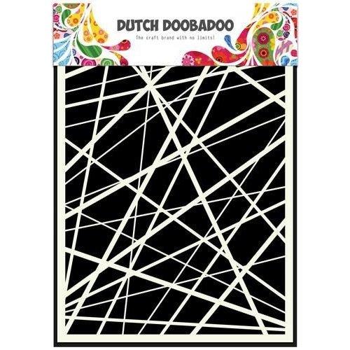 Dutch Doobadoo 470.715.105 - Dutch Doobadoo Dutch Mask Art stencil strepen A5 15.105