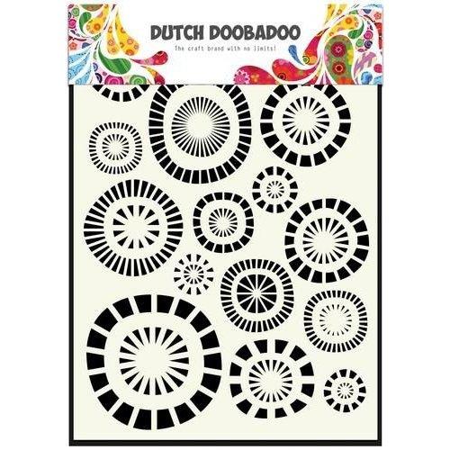 Dutch Doobadoo 470.715.107 - Dutch Doobadoo Dutch Mask Art stencil cirkels A5 15.107