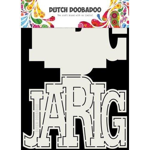 Dutch Doobadoo 470713731 - DDBD Card Art Jarig