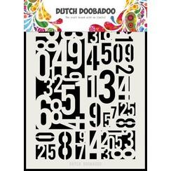 470715146 - DDBD Dutch Mask Art Numbers A5