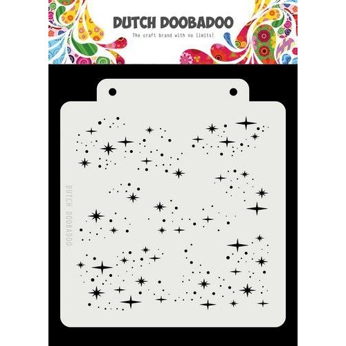 Dutch Doobadoo 470715148 - DDBD Dutch Mask Art Starry Night 163x148