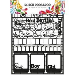 472950006 - DDBD Dutch Paper Art Teksten
