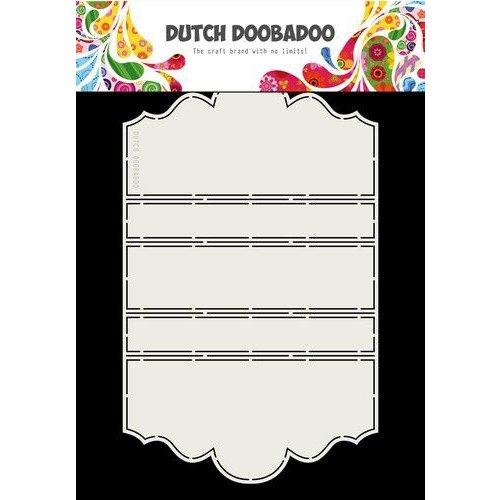 Dutch Doobadoo 470713783 - DDBD Card Art A4 Iris