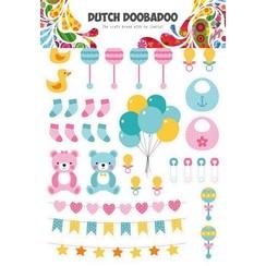 474007010 - DDBD Dutch Paper Art A4 Baby elements