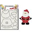 Dutch Doobadoo 470.713.830 - Dutch Doobadoo Card Art Built up Kerstman A5 470.713.830