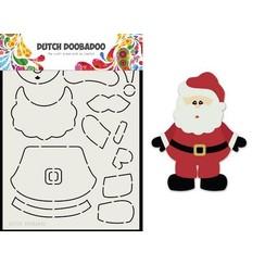 470.713.830 - Dutch Doobadoo Card Art Built up Kerstman A5 470.713.830