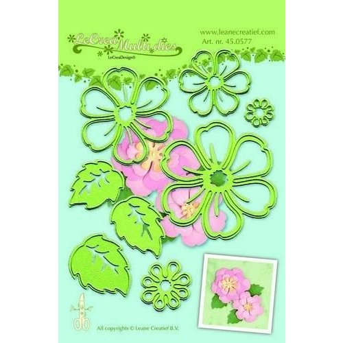 Leane Creatief 45.0577 - Lea?bilitie Multi die flower 008 blossom snij en embossing mal
