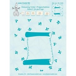 35.1345 - Embossing folder Roll of parchment