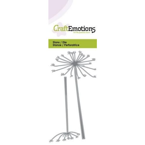 CraftEmotions 115633/0144 - CraftEmotions Die - berenklauw Card 5x10cm