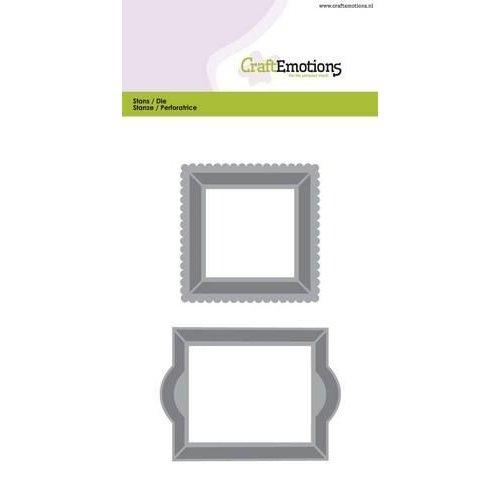 CraftEmotions 115633/0504 - CraftEmotions Die - lijsten 1 Card 10,5x14,8cm