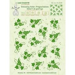 35.2540 - Embossing folder background Grapes