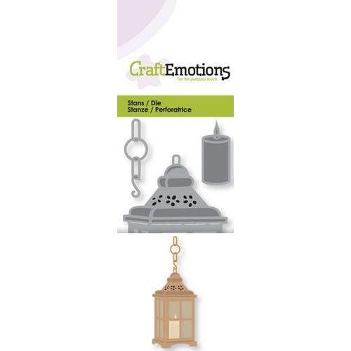 CraftEmotions 115633/0193 - CraftEmotions Die - lantaarn