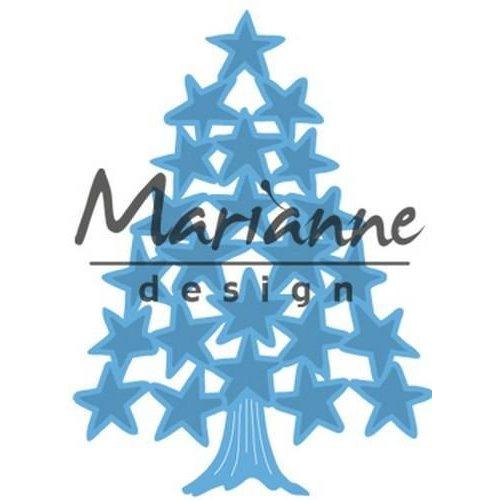 Marianne Design LR0490 - Creatable Tiny's Kerstboom sterren 0