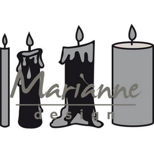 Marianne Design CR1426 - Craftable Kaarsen set 6
