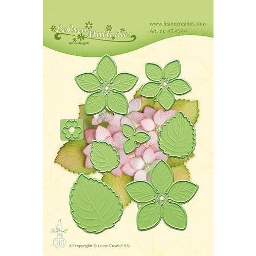 45.4544 - Lea'bilitie Multi die flower 011 Hydrangea snij en embossing mal