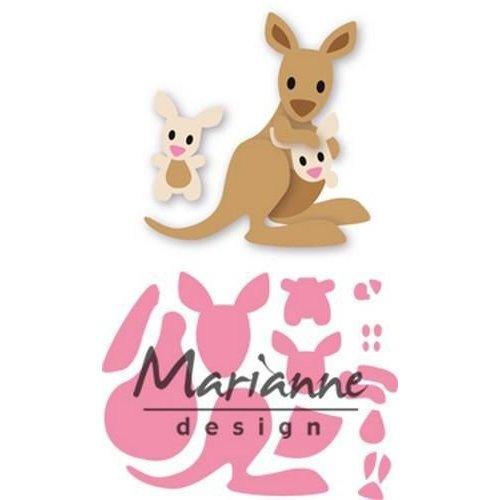 Marianne Design COL1446 - Marianne Design Collectable Eline's kangaroo & baby