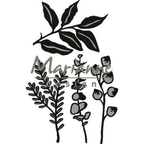 Marianne Design CR1432 - Marianne Design Craftable Herbs & leaves