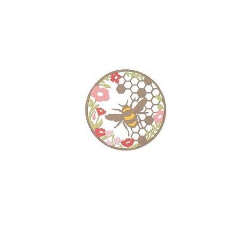 Sizzix 662545 - Sizzix Thinlits Die Set 2PK - Honey Bee 5 Sophie Guilar