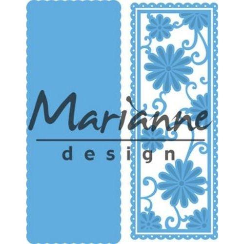 Marianne Design LR0516 - Creatable Anja's flower rectangle 6