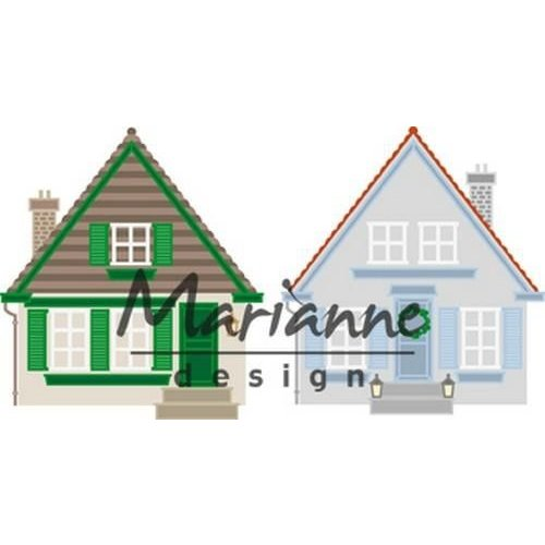 Marianne Design CR1437 - Craftable Build-a-house 7 117x140 mm