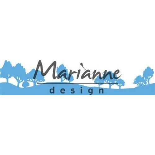 Marianne Design LR0524 - Creatable Horizon woodland 4 140x27 mm