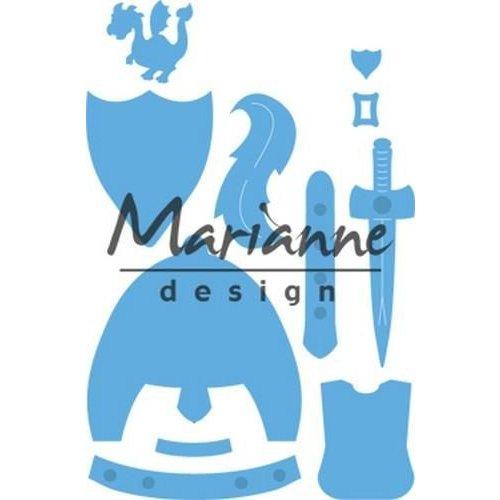 Marianne Design LR0528 - Marianne Design Creatable Kim's Buddies knight