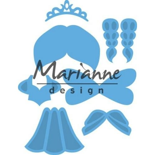 Marianne Design LR0529 - Marianne Design Creatable Kim's Buddies princess