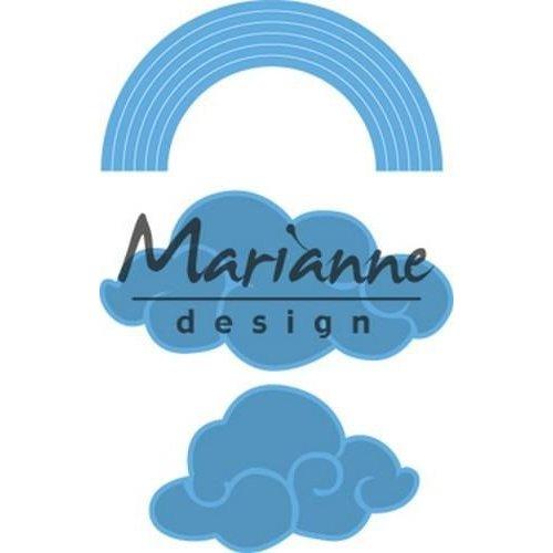 Marianne Design LR0531 - Creatable Regenboog en wolken 1 49x31 - 64x33mm