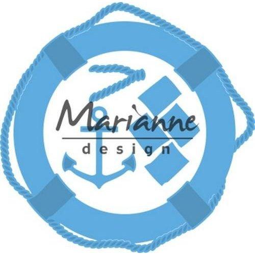 Marianne Design LR0532 - Creatable Nautische set 2 130x128 mm