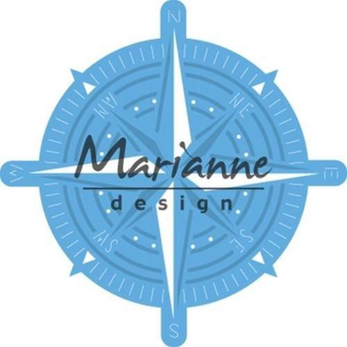 Marianne Design LR0534 - Creatable kompas 4 70x70 mm