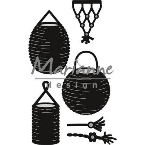 Marianne Design CR1443 - Marianne Design Craftable Lampion set