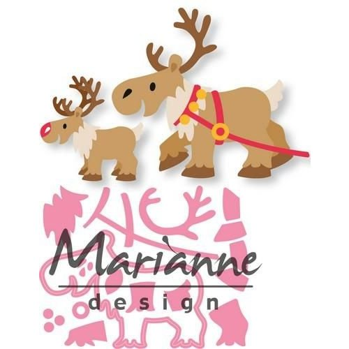Marianne Design COL1461 - Marianne Design Collectable Eline's Reindeer