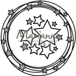 CR1447 - Marianne Design Craftable Circle & stars