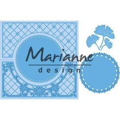 LR0552 - Marianne Design Creatable Anja's lacy folding die: circle