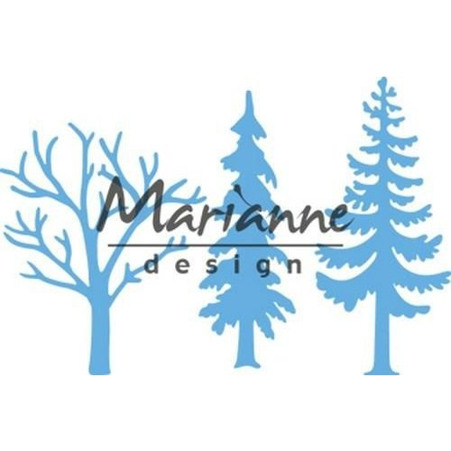 Marianne Design LR0556 - Marianne Design Creatable Forest trees (set of 3)