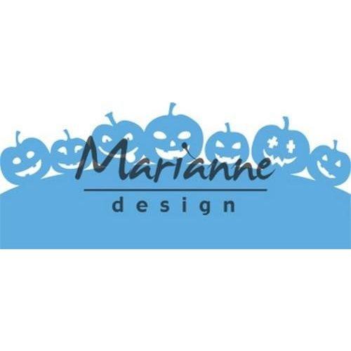 Marianne Design LR0562 - Marianne Design Creatable Border with pumpkins