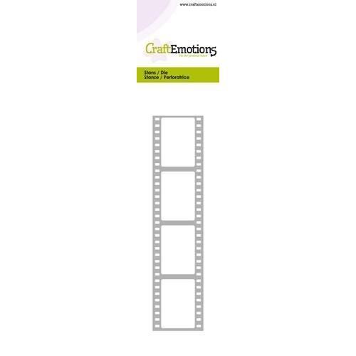 CraftEmotions 115633/0707 - CraftEmotions Die - Cutting border - film strip Card 5,0x21,5cm