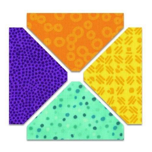 Sizzix 662015 - Sizzix Bigz Die - Triangles 1 1/2 H x 2 1/2 W Unfinished 5