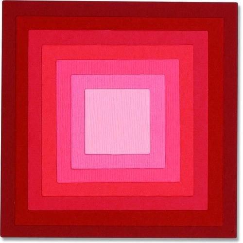 Sizzix 662602 - Sizzix Framelits Die Set 8PK - Square Frames 2 Pete Hughes