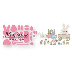 COL1463 - Marianne Design Collectable Eline's baby bunny