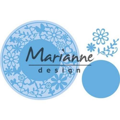 Marianne Design LR0574 - Marianne Design Creatable Flower Frame round