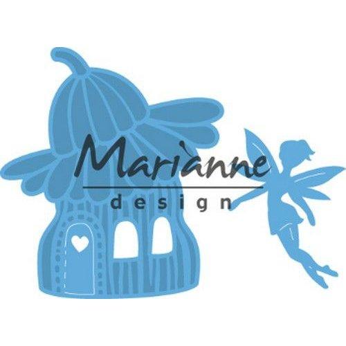 Marianne Design LR0579 - Marianne Design Creatable Fairy flower house