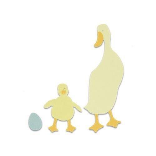 Sizzix 663306 - Sizzix Bigz Die - Duck and Duckling 6