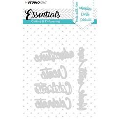 STENCILSL164 - Cutting and Embossing Die Essentials nr.164